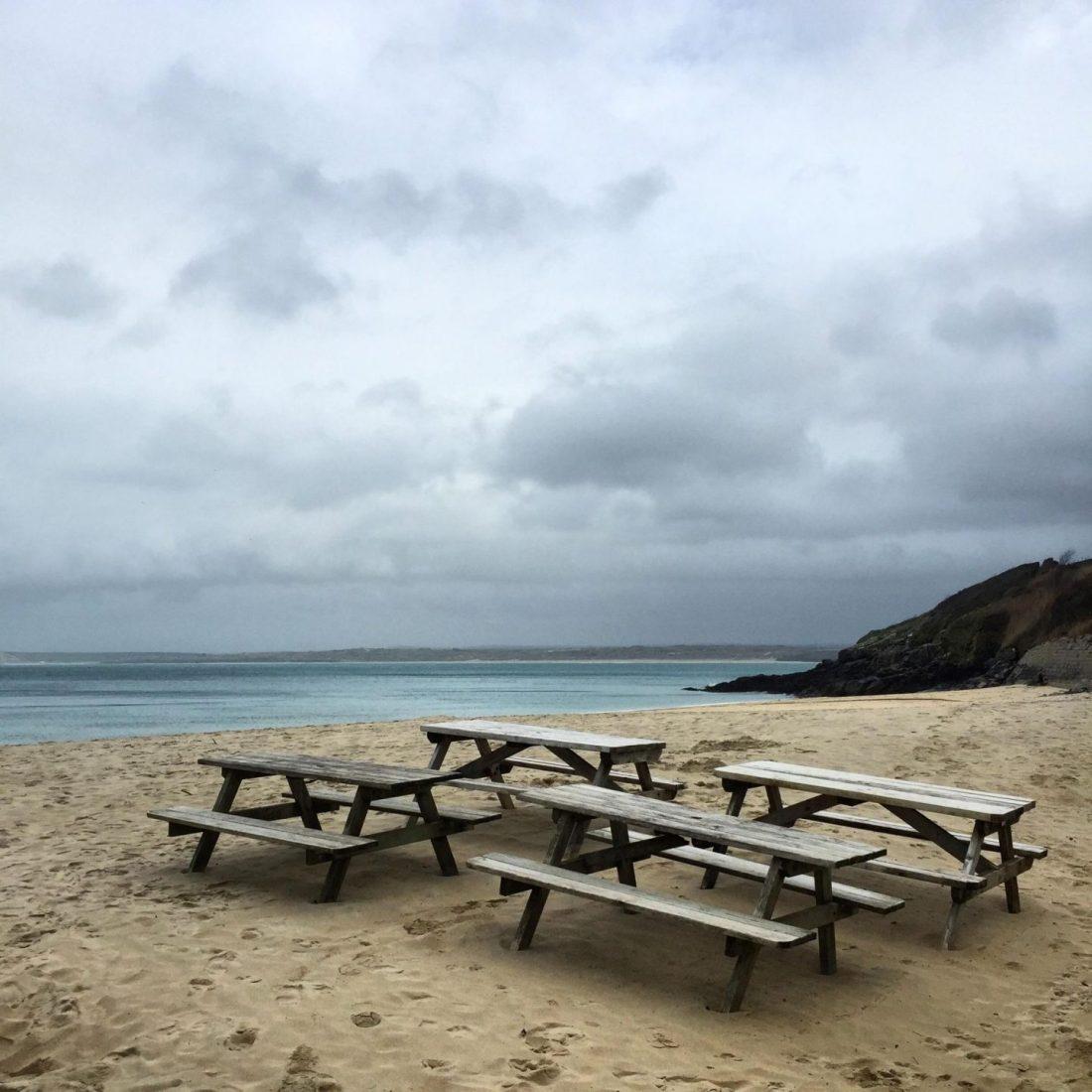 Porthmeor Beach, Cornwall