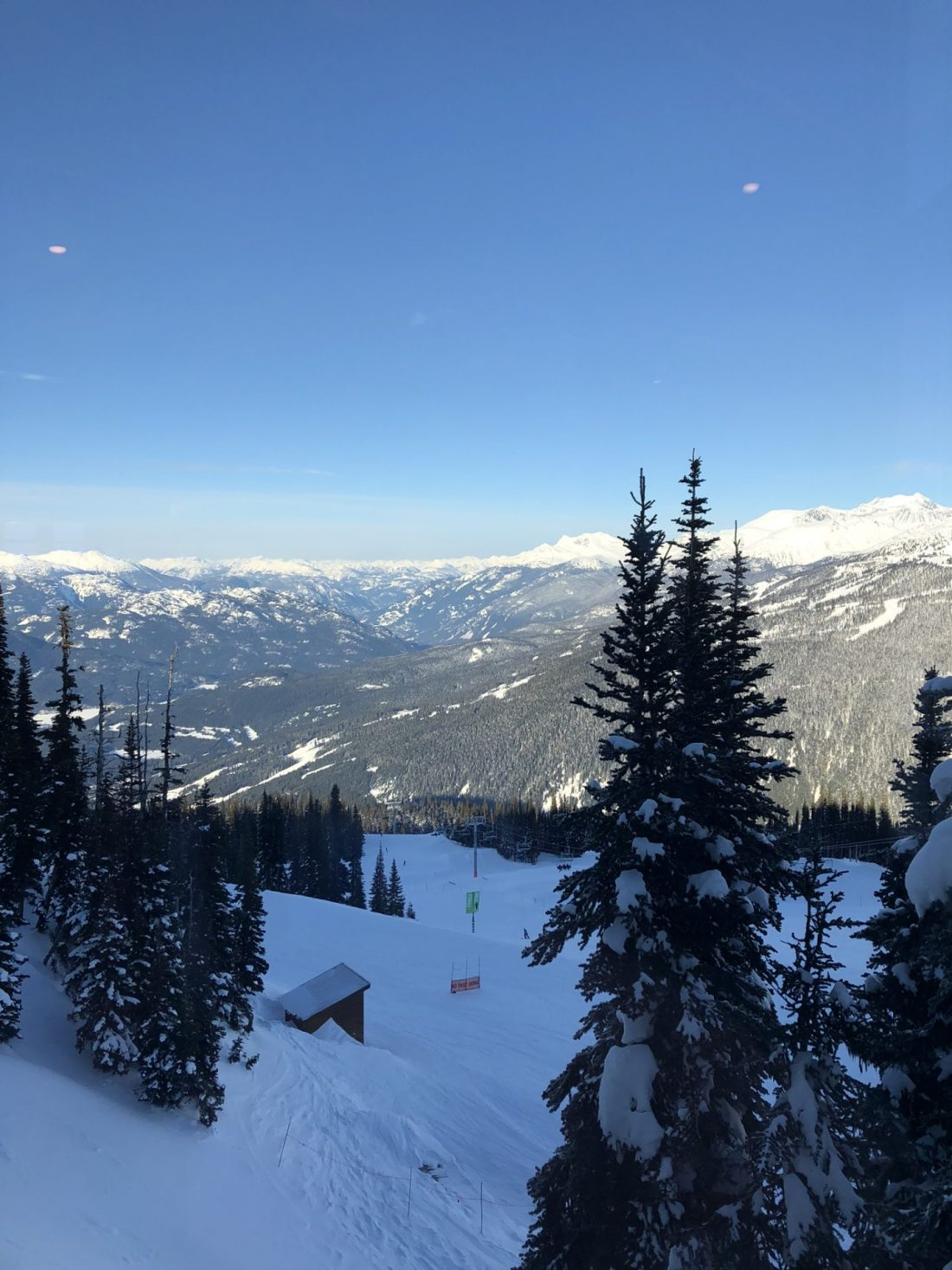 Views over Whistler, British Columbia