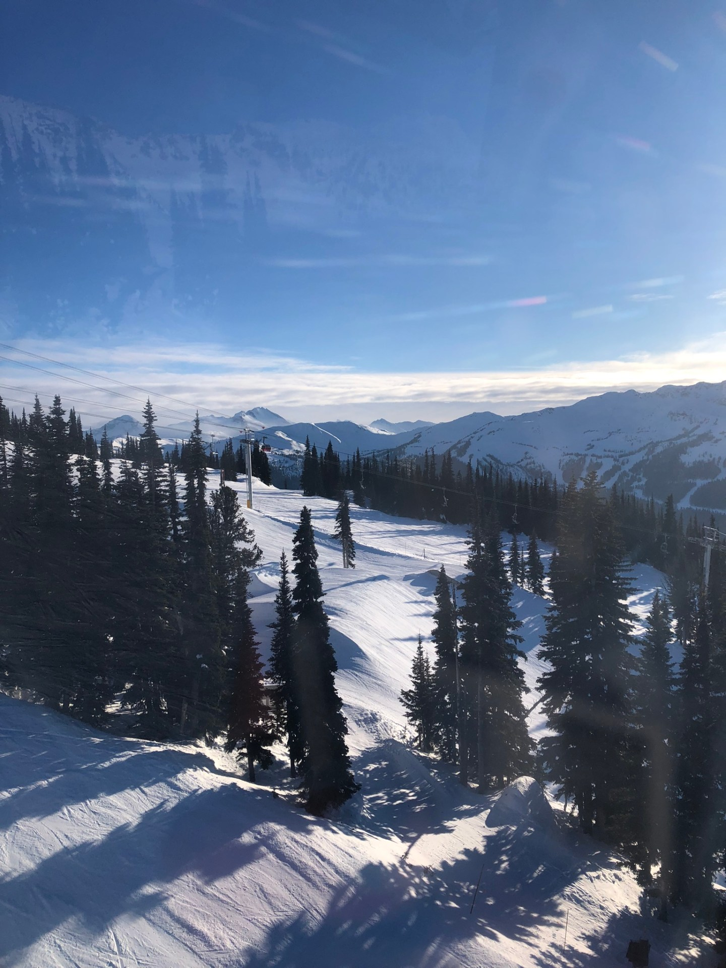 Views over Blackcomb Mountain, Whistler