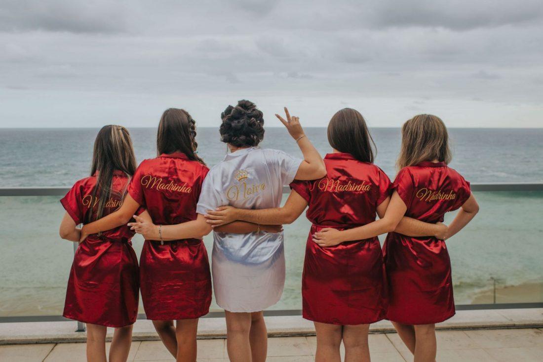 Girls on a bachelorette party