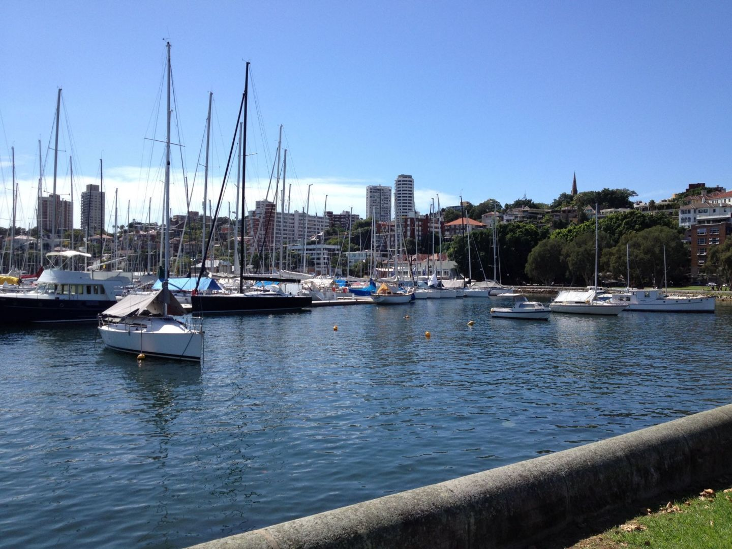 Boats at Rushcutters Bay, Sydney