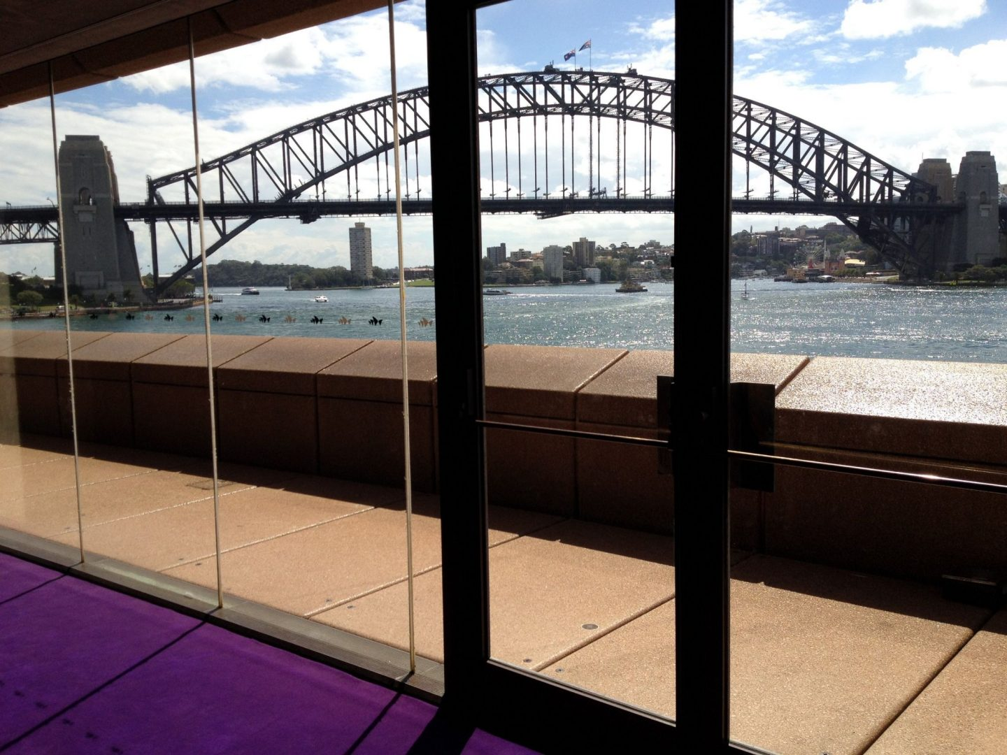 View of Sydney Harbour Bridge from Sydney Opera House