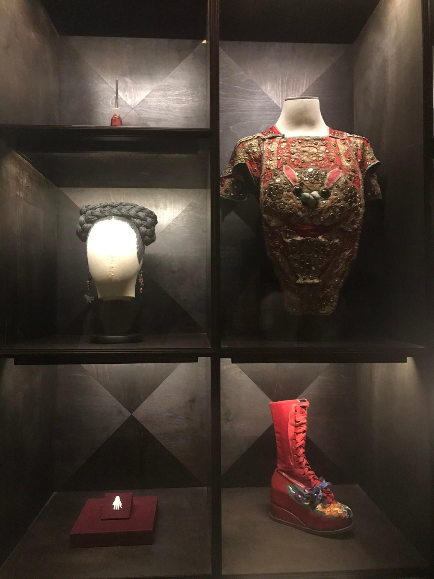 Frida Kahlo clothing, Frida Kahlo Museum