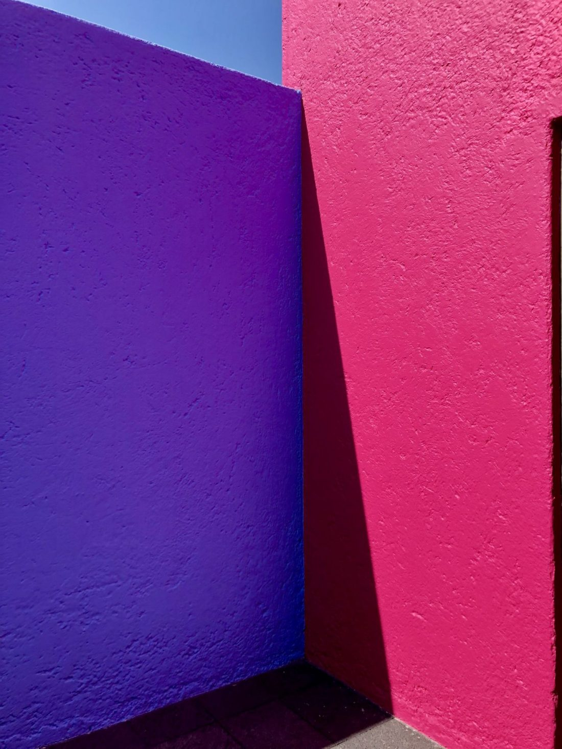 Colourful walls