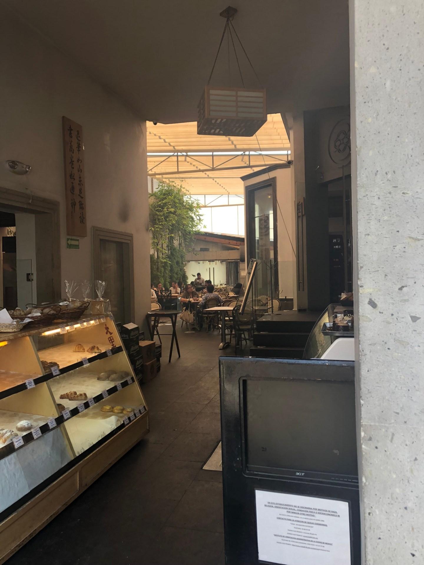 Cafe in Coyoacan, Mexico City