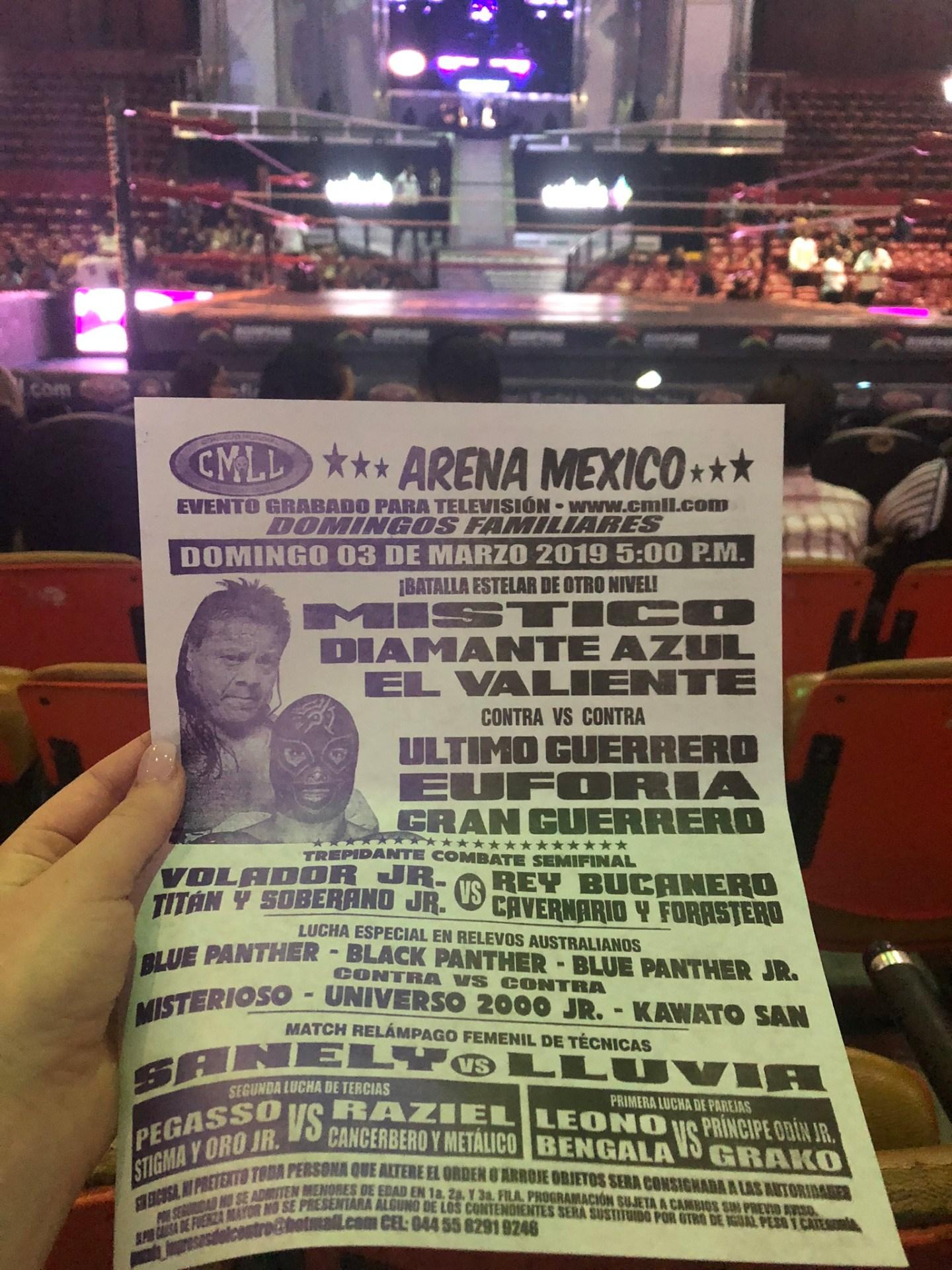 Lucha libre, Mexico City