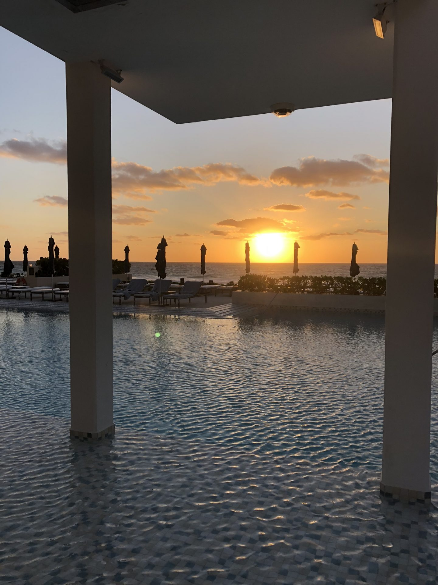 Sunrise at Secrets The Vine, Cancun