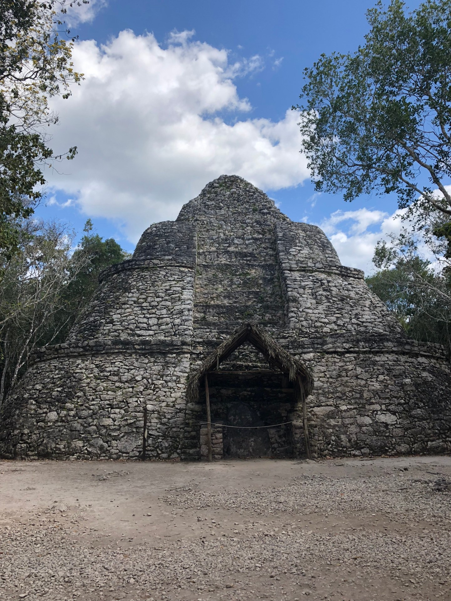 Observatory in Coba, Mexico