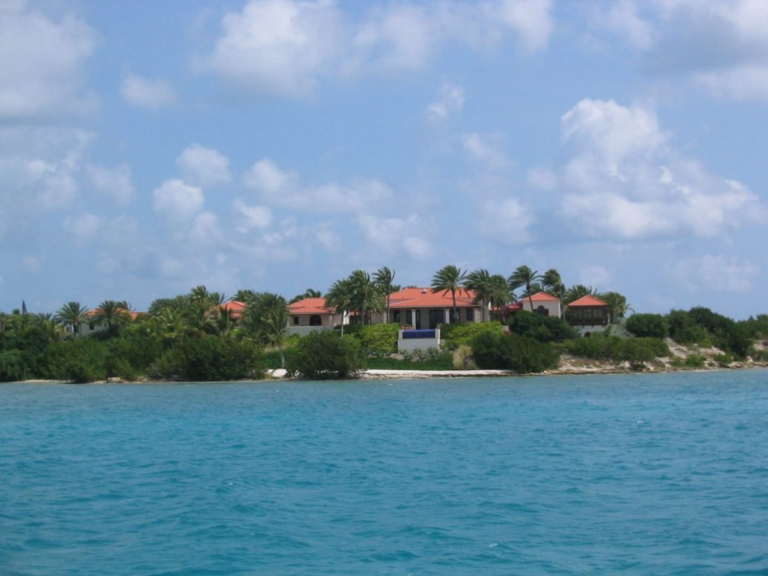 Oprah Winfrey's house, Antigua
