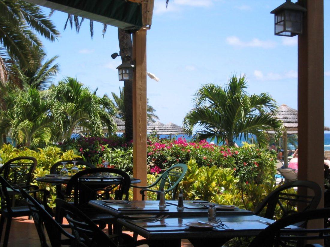 Rainbow Garden Restaurant, St James's Club, Antigua