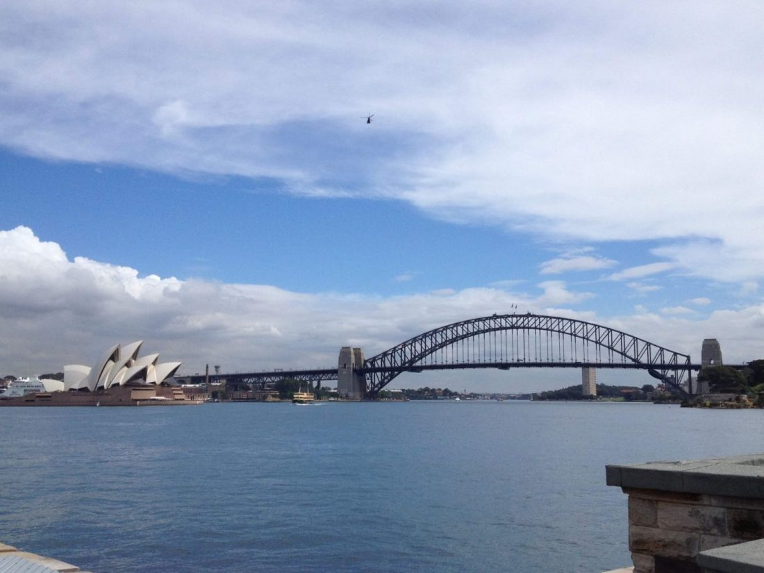 View across Sydney Harbour