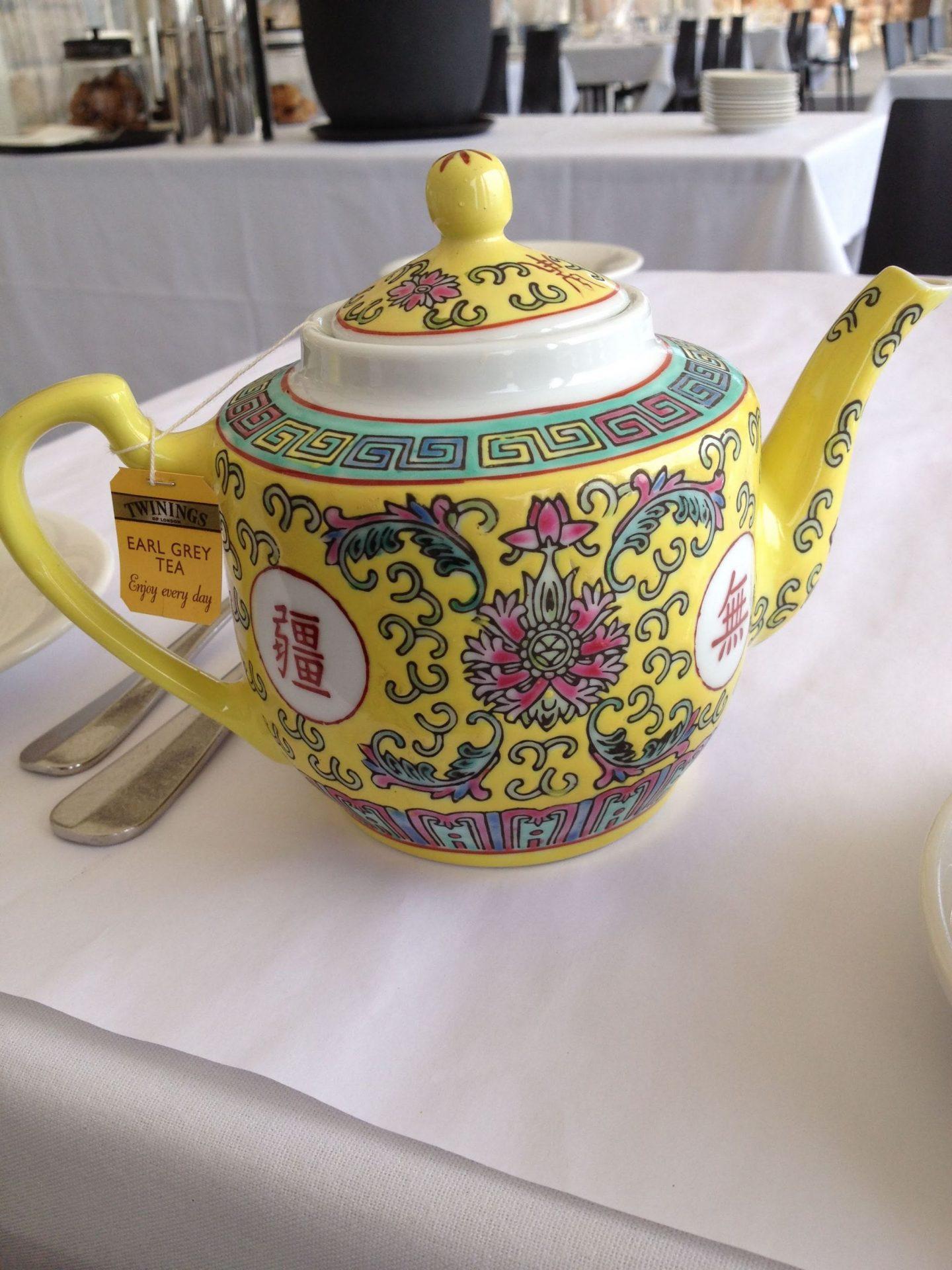 Chinese teapot on Fort Denison, Sydney