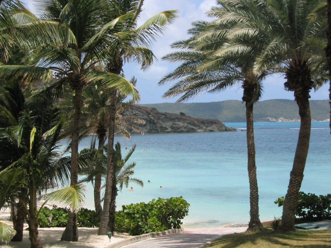 My top travel destinations: Looking out to sea from St James' Club, Antigua