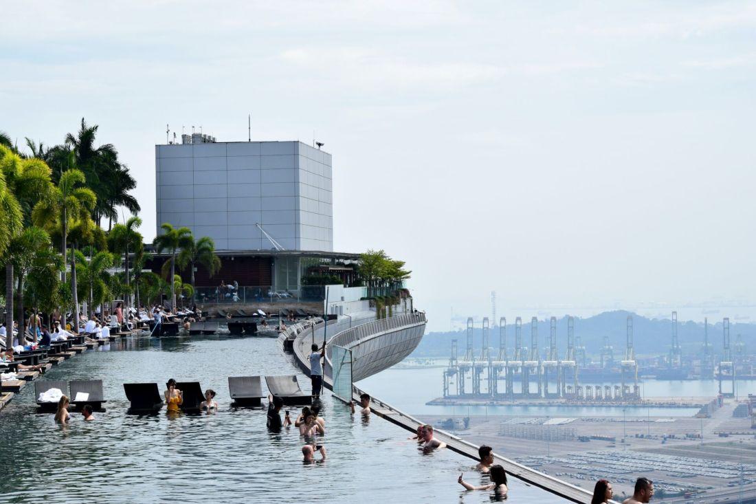 World's best swimming pools: Marina Bay Sands