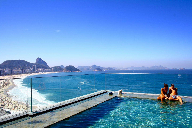 World's best swimming pools: Miramar, Rio de Janeiro, Brazil