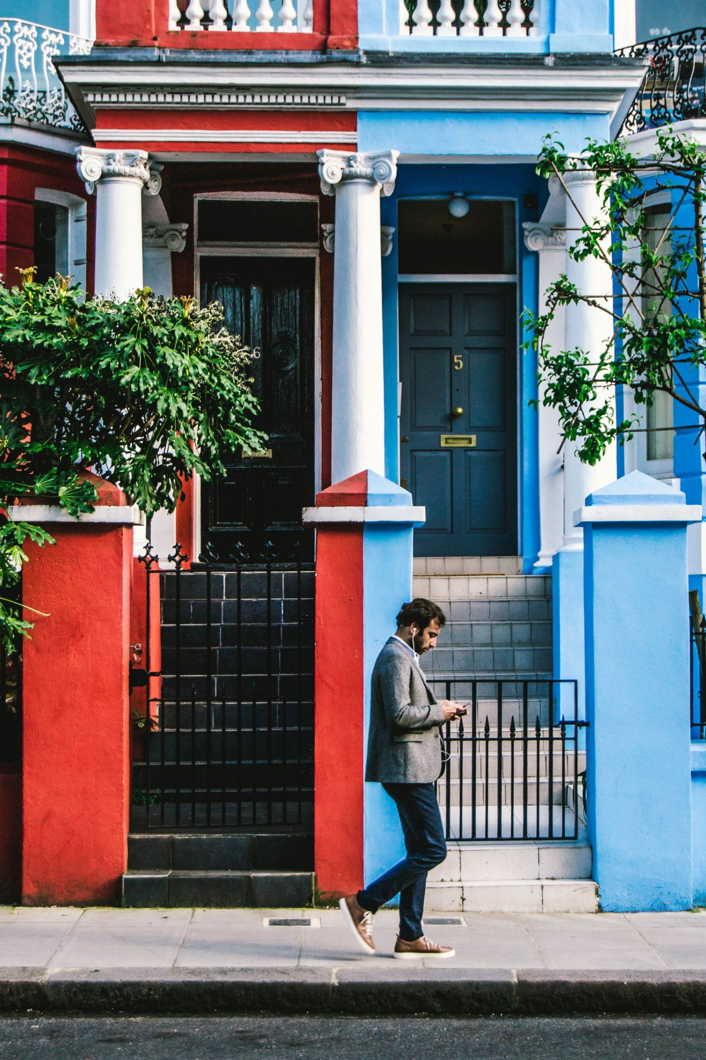 Notting Hill, London is one of the world's most colourful cities