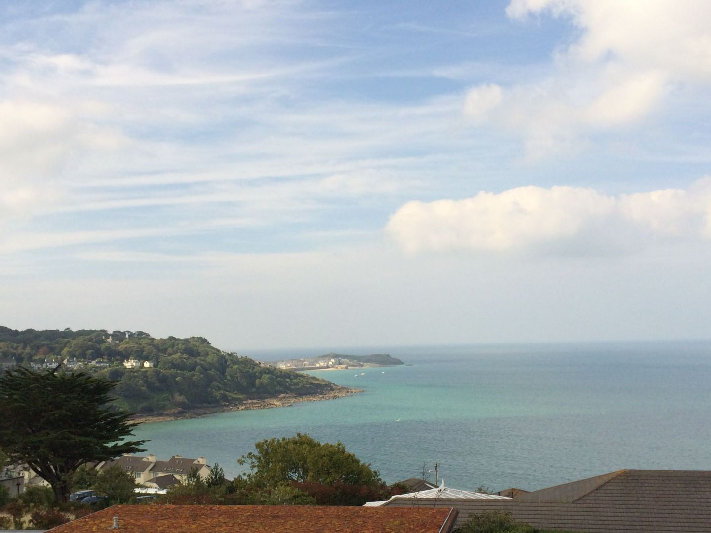 Views across Carbis Bay, Cornwall