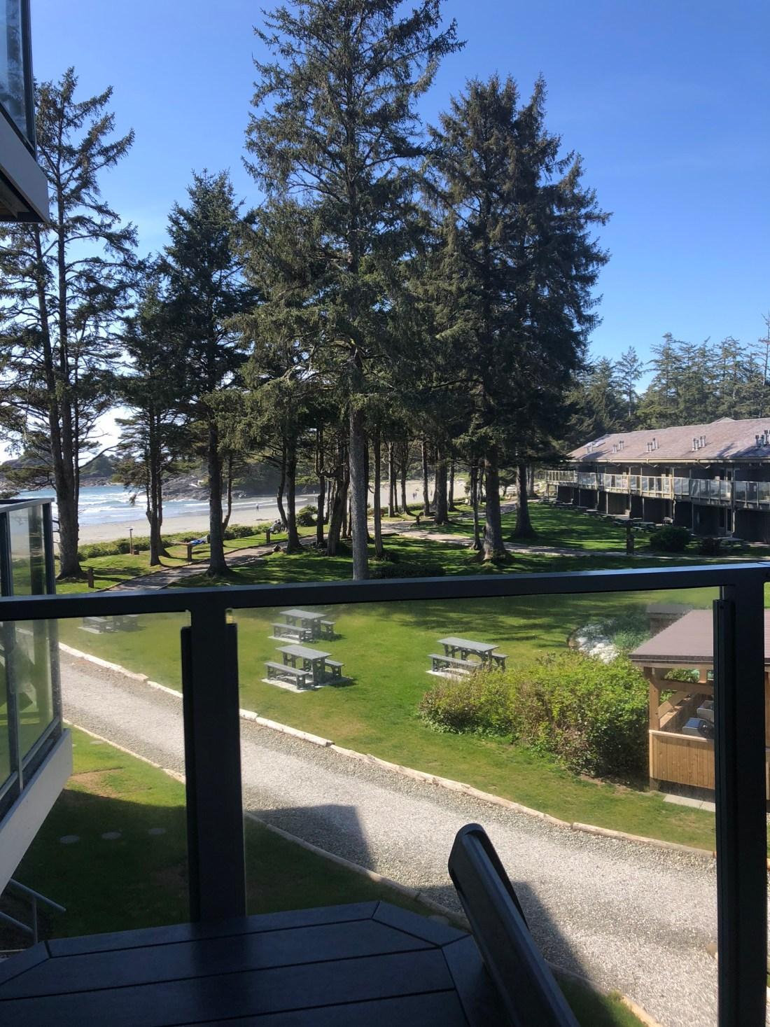 Views from Pacific Sands Beach Resort, Tofino