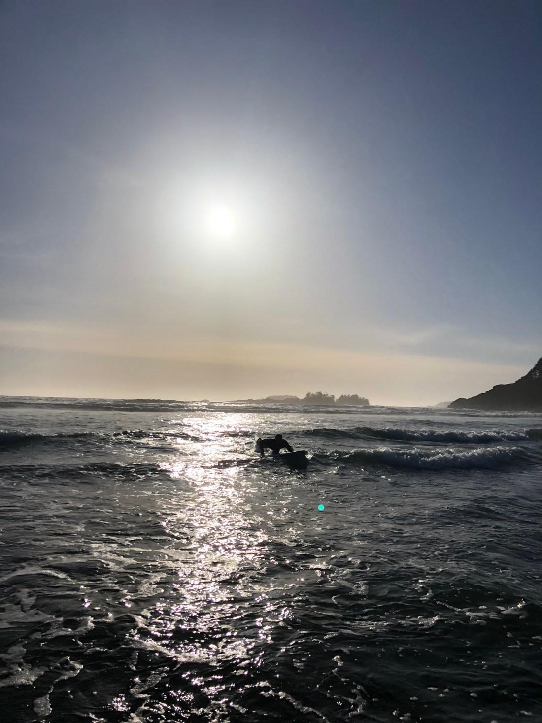 Sunset over Cox Bay Beach, Tofino