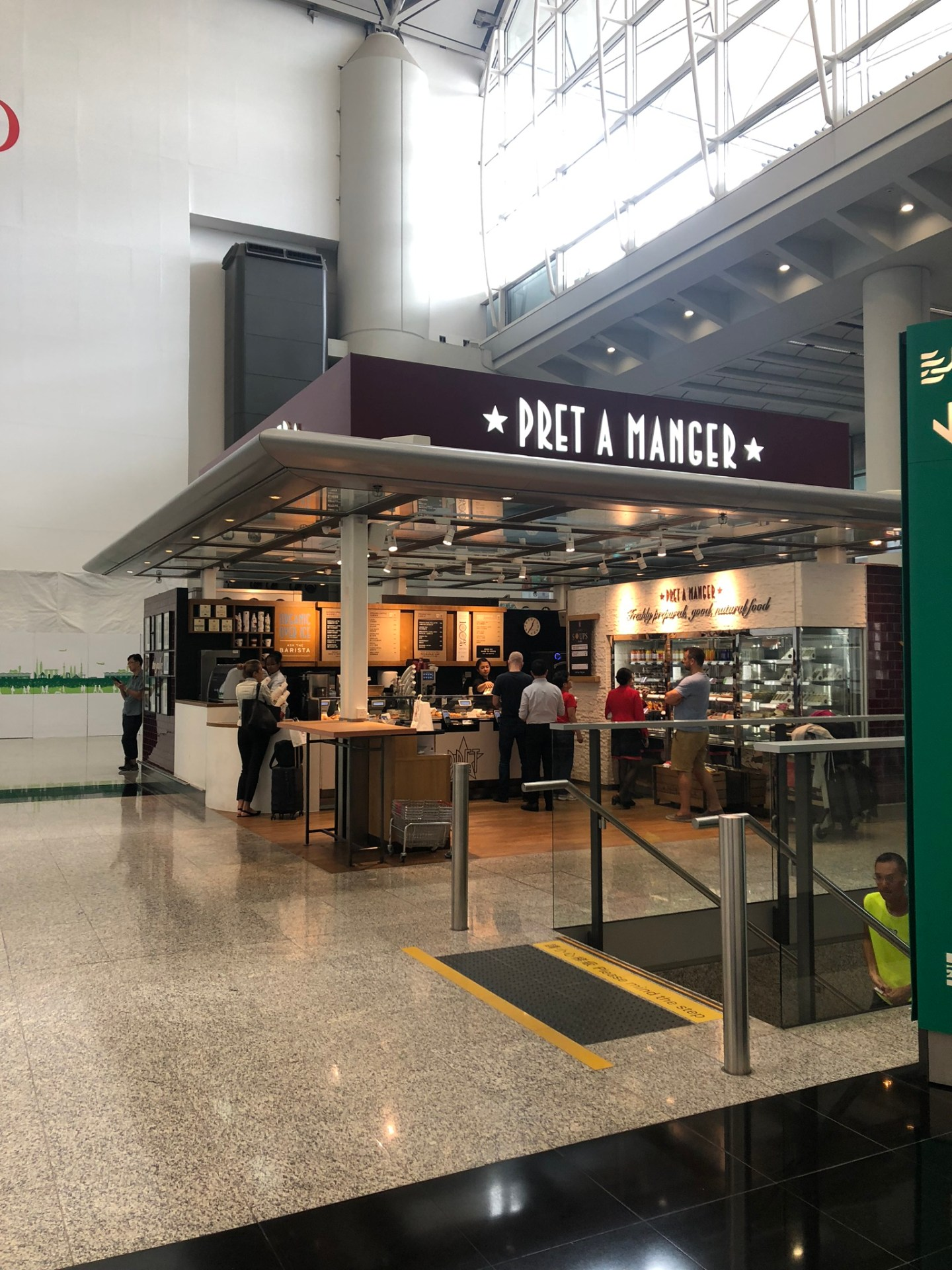 Pret a Manger, Hong Kong Airport