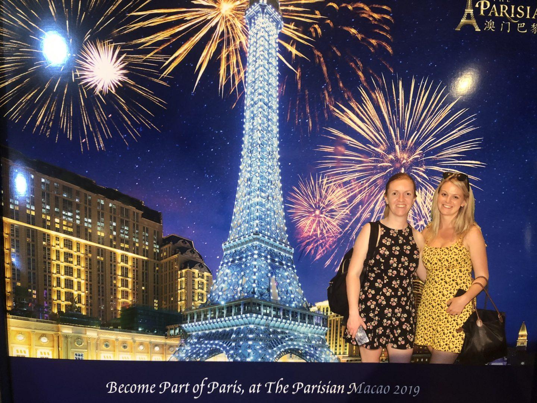 Girls at the Parisian Macau