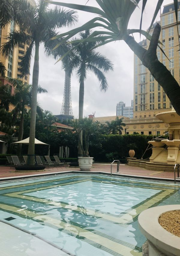 Pool at the Venetian Macau, Cotai Strip