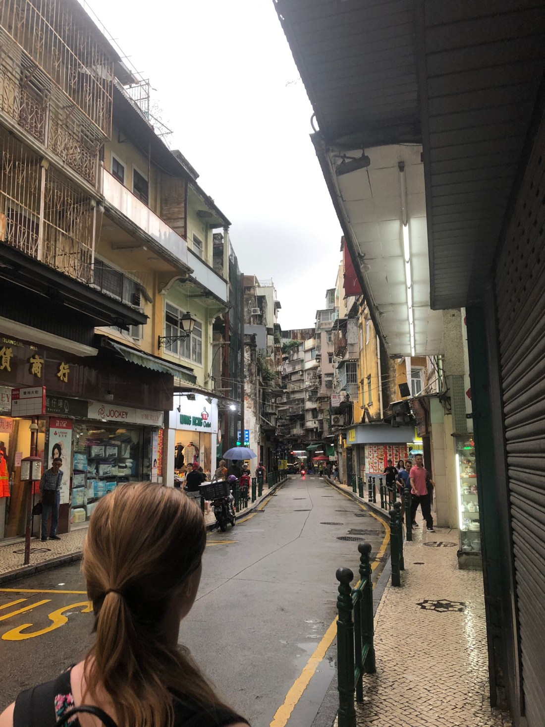 Exploring the streets of Macau, China