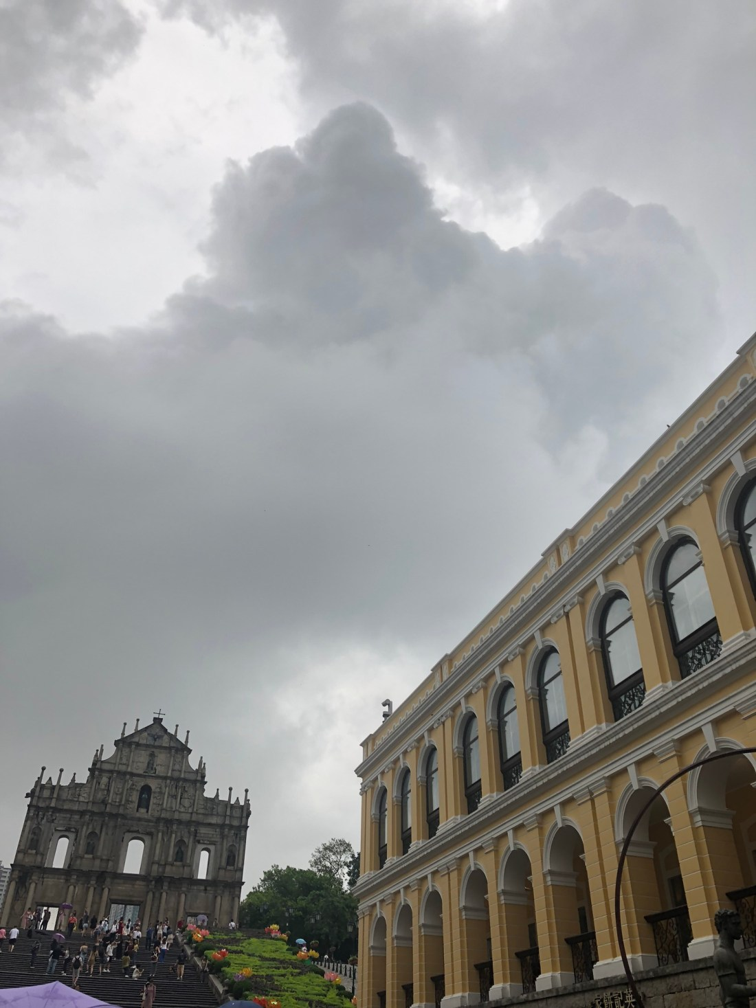 St Pauls Ruins in Macau