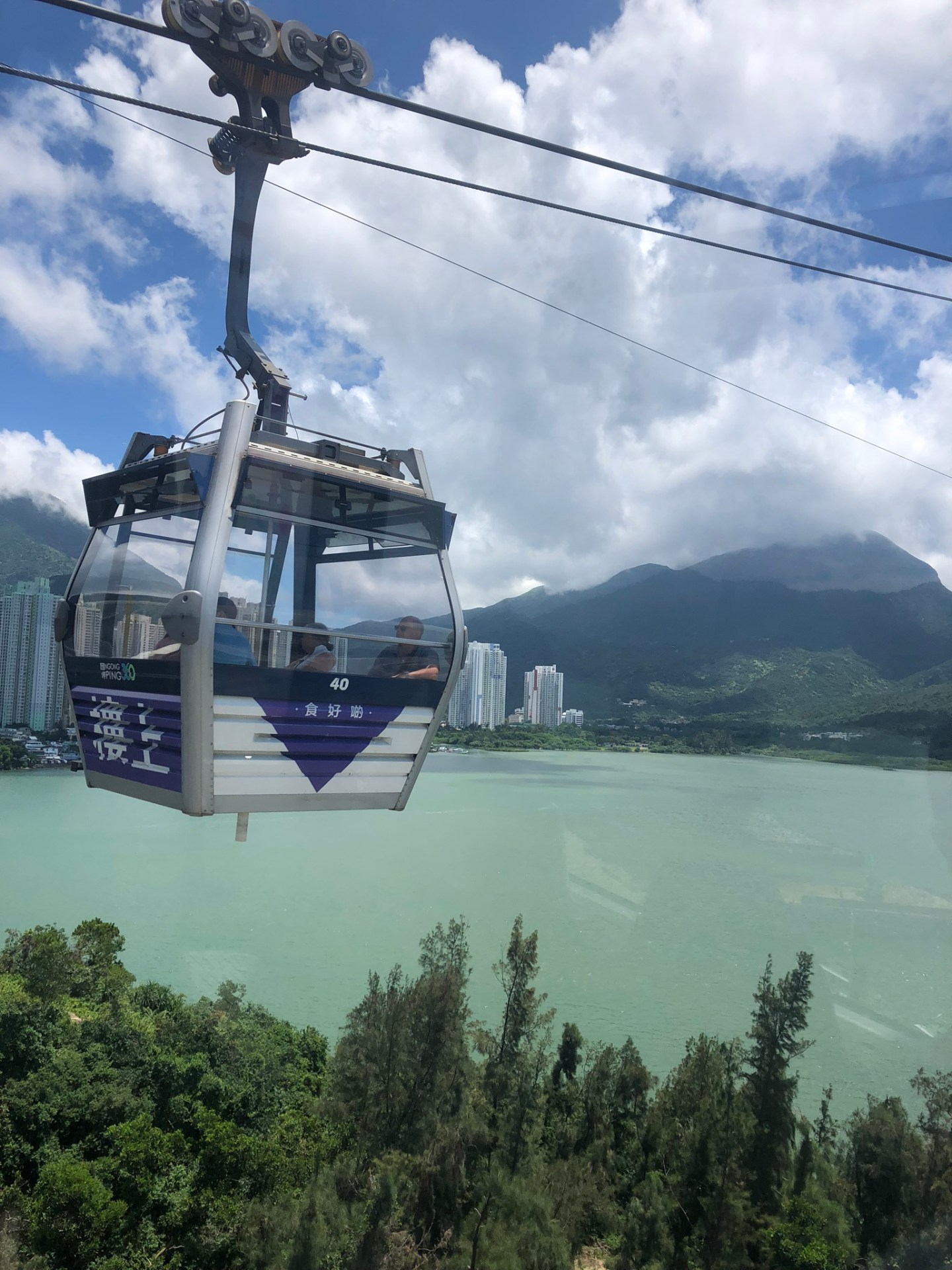 Gondola on Lantau Island