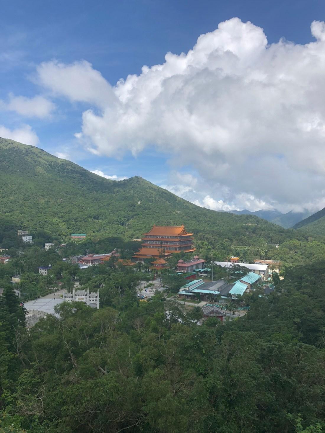 Views from Mount Muk Yue, Lantau Island