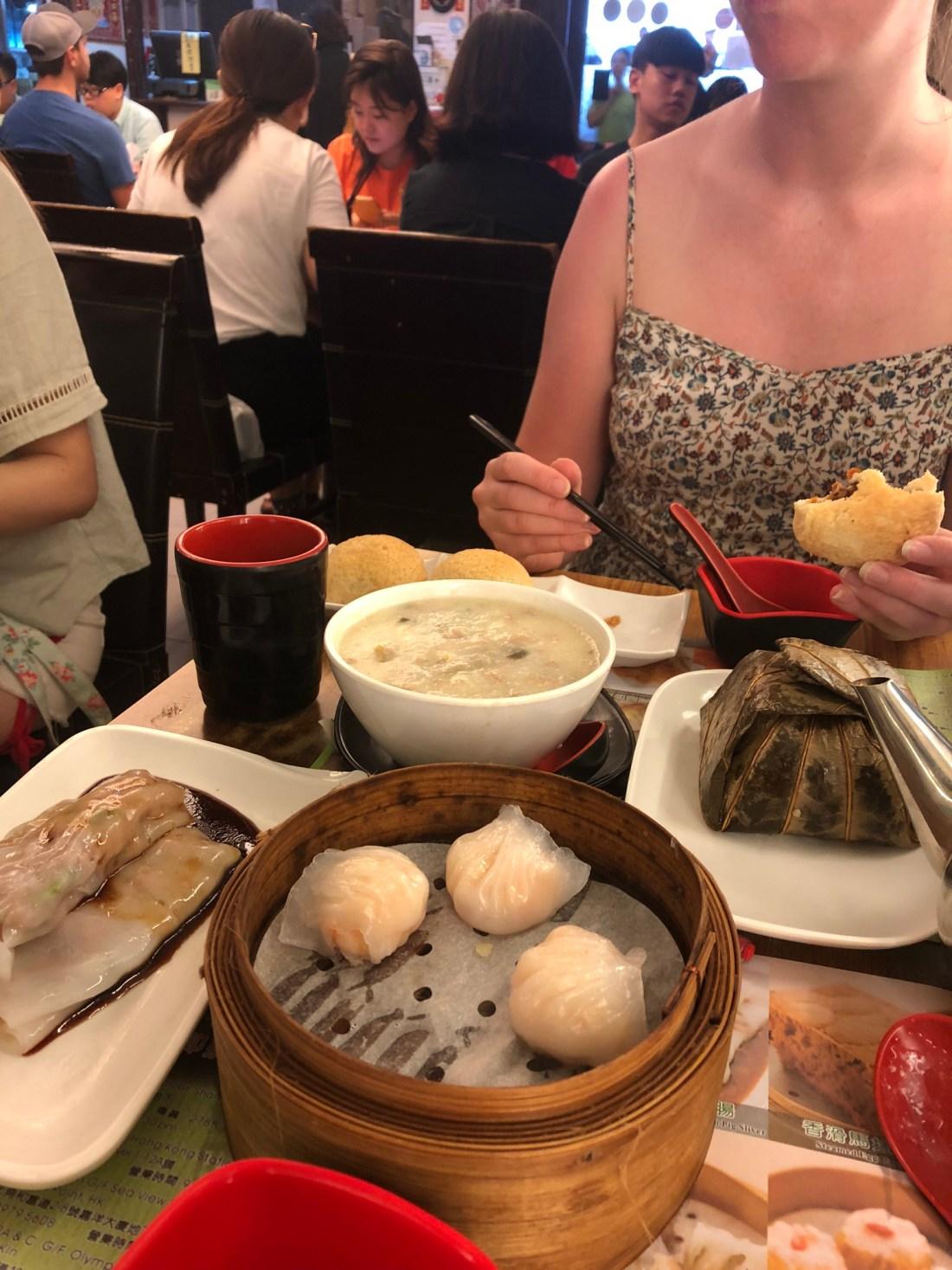 Food in Tim Ho Wan, Sham Shui Po, Hong Kong