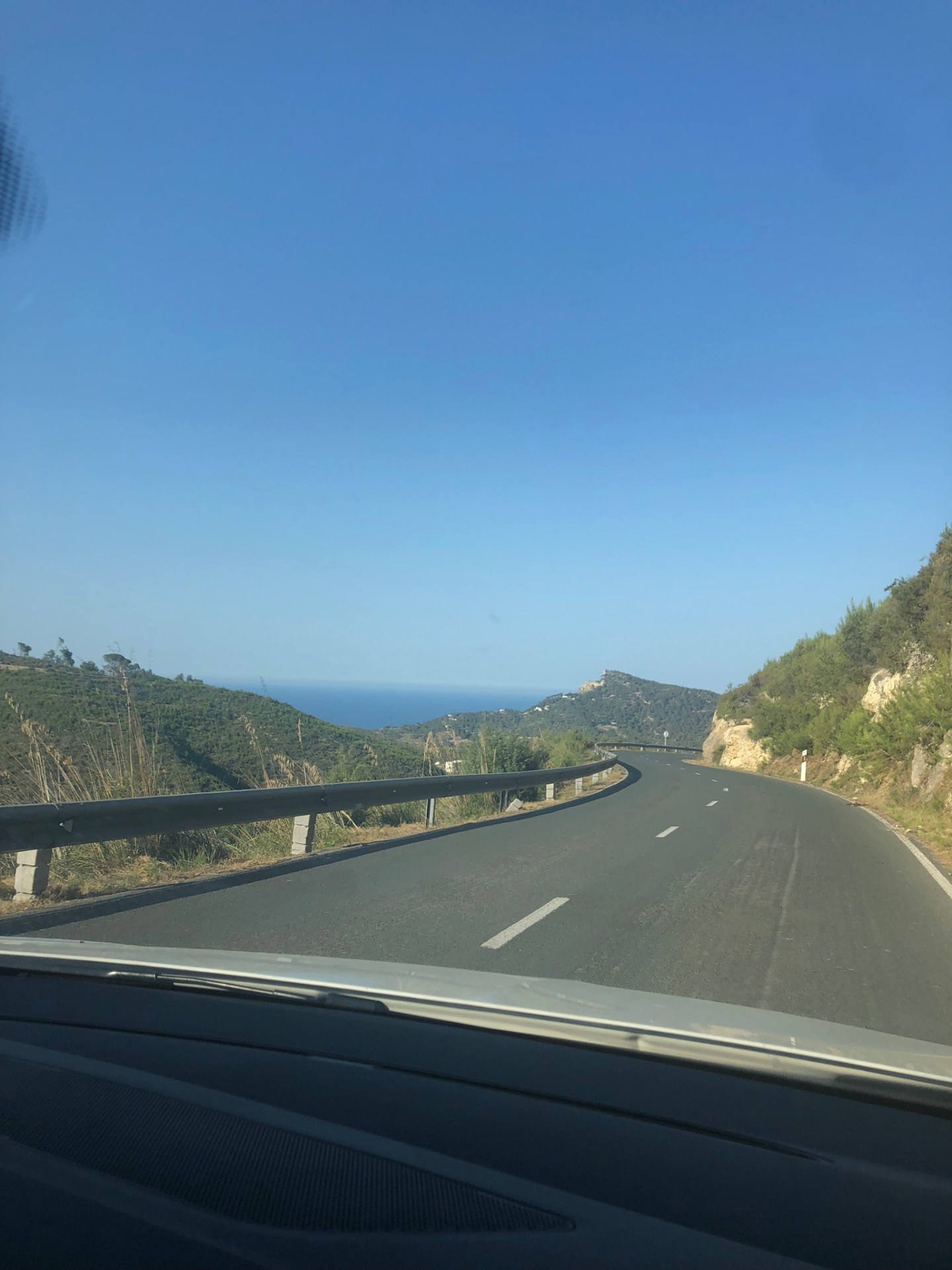 Best places to visit in Ibiza: Road to Cala de Sant Vincent, Ibiza