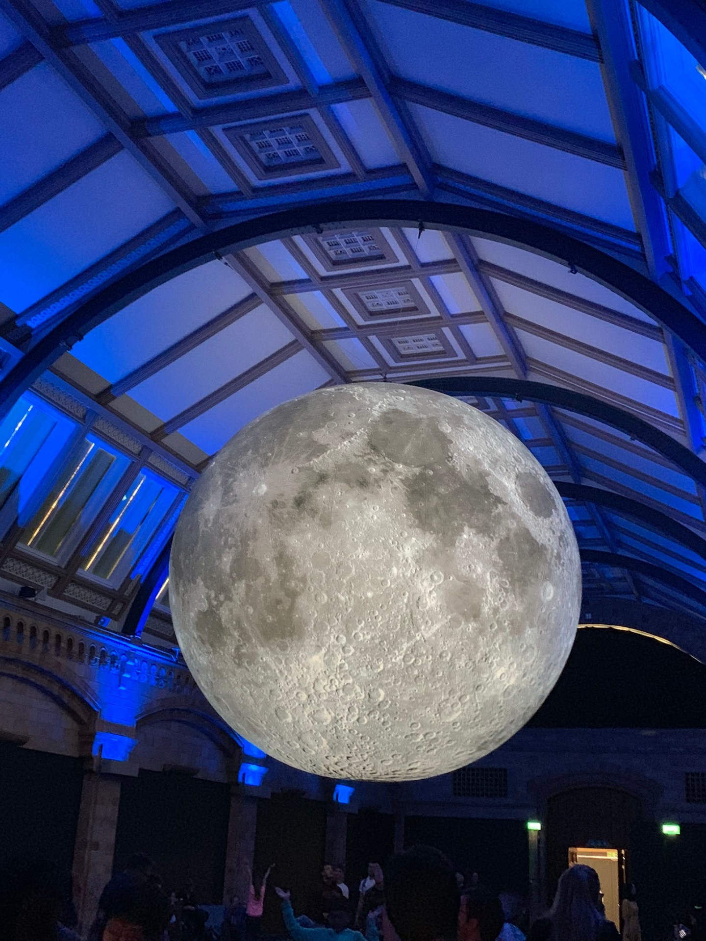London bucket list: learning about the moon at the Natural History Museum