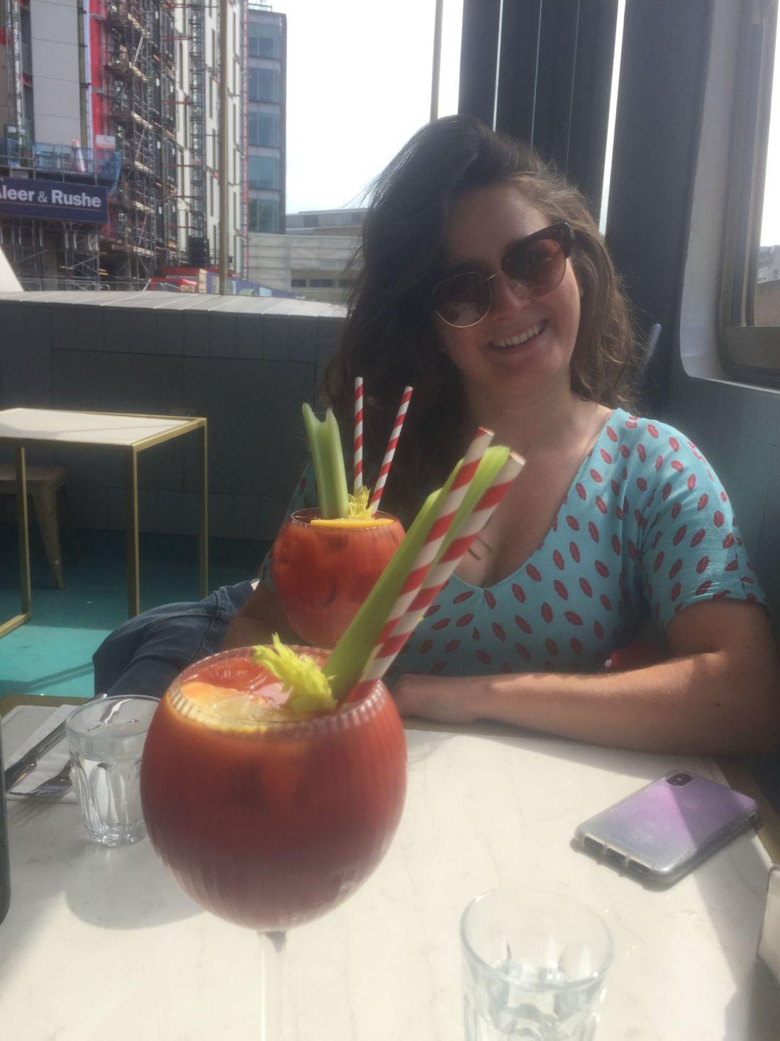 Bloody Marys for brunch in London