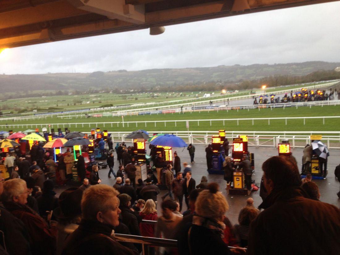Views over Cheltenham Races