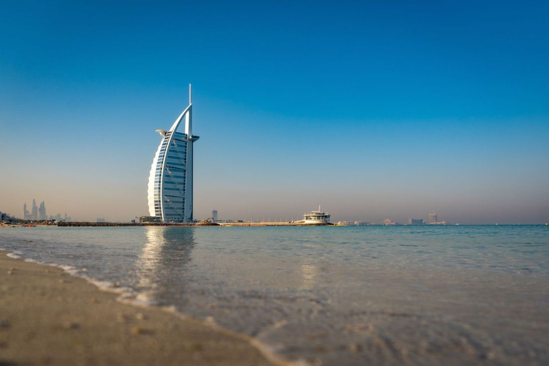 Best places for winter sun: Dubai, UAE