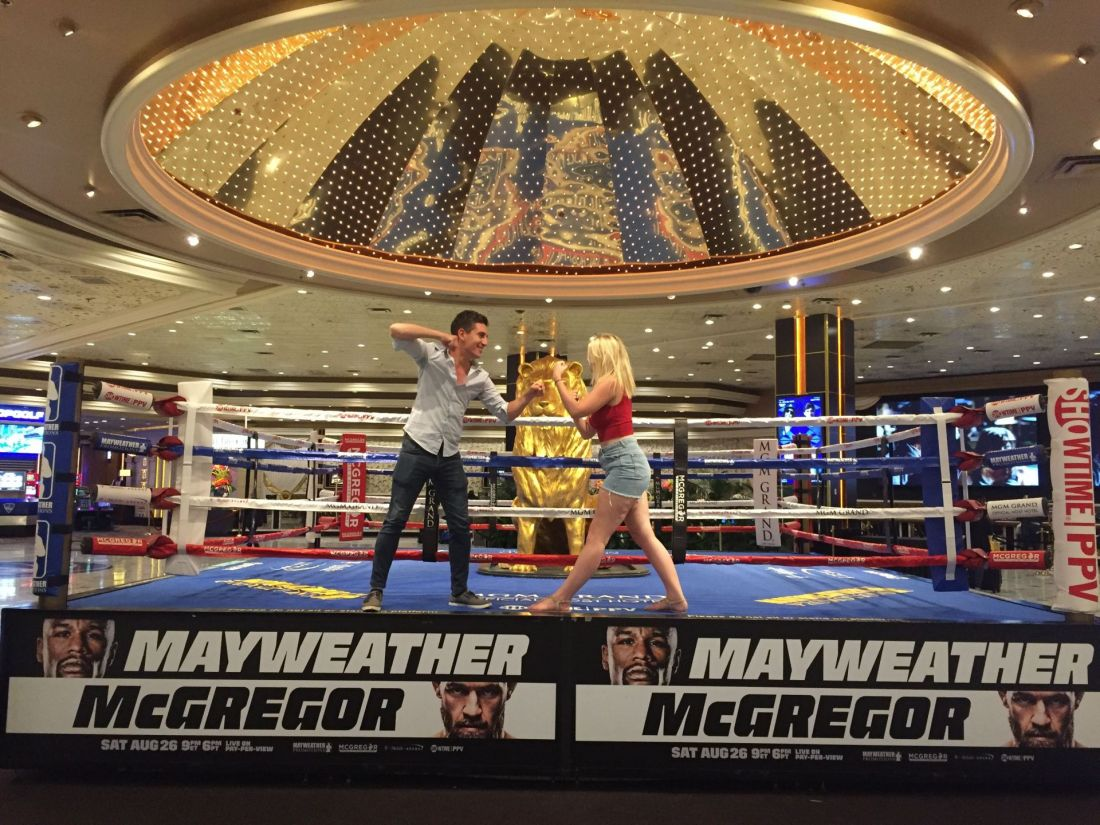 Fight at the MGM Grand