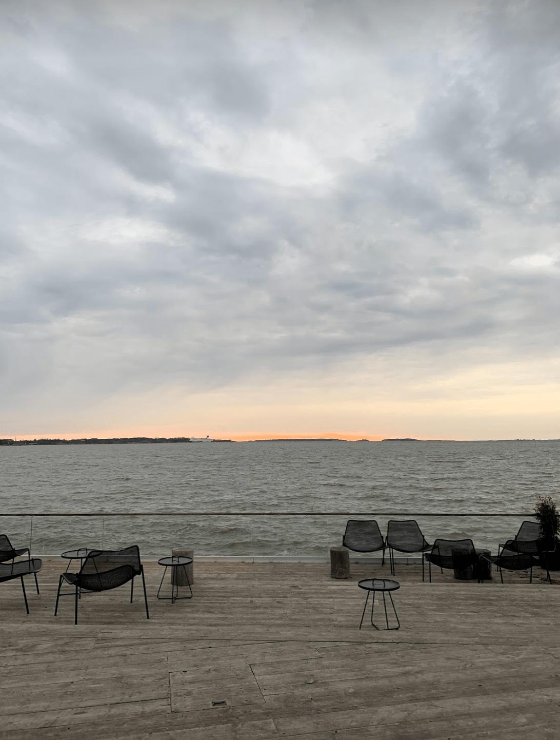 Views from Loyly, Helsinki