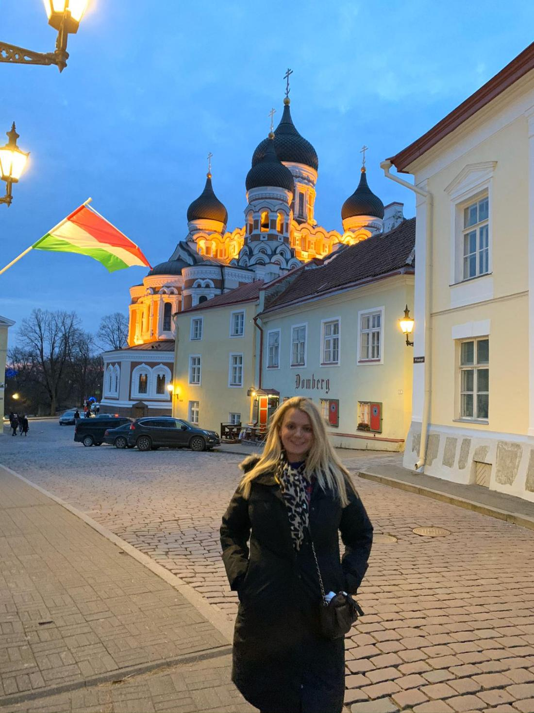 Laura in Tallinn, Estonia