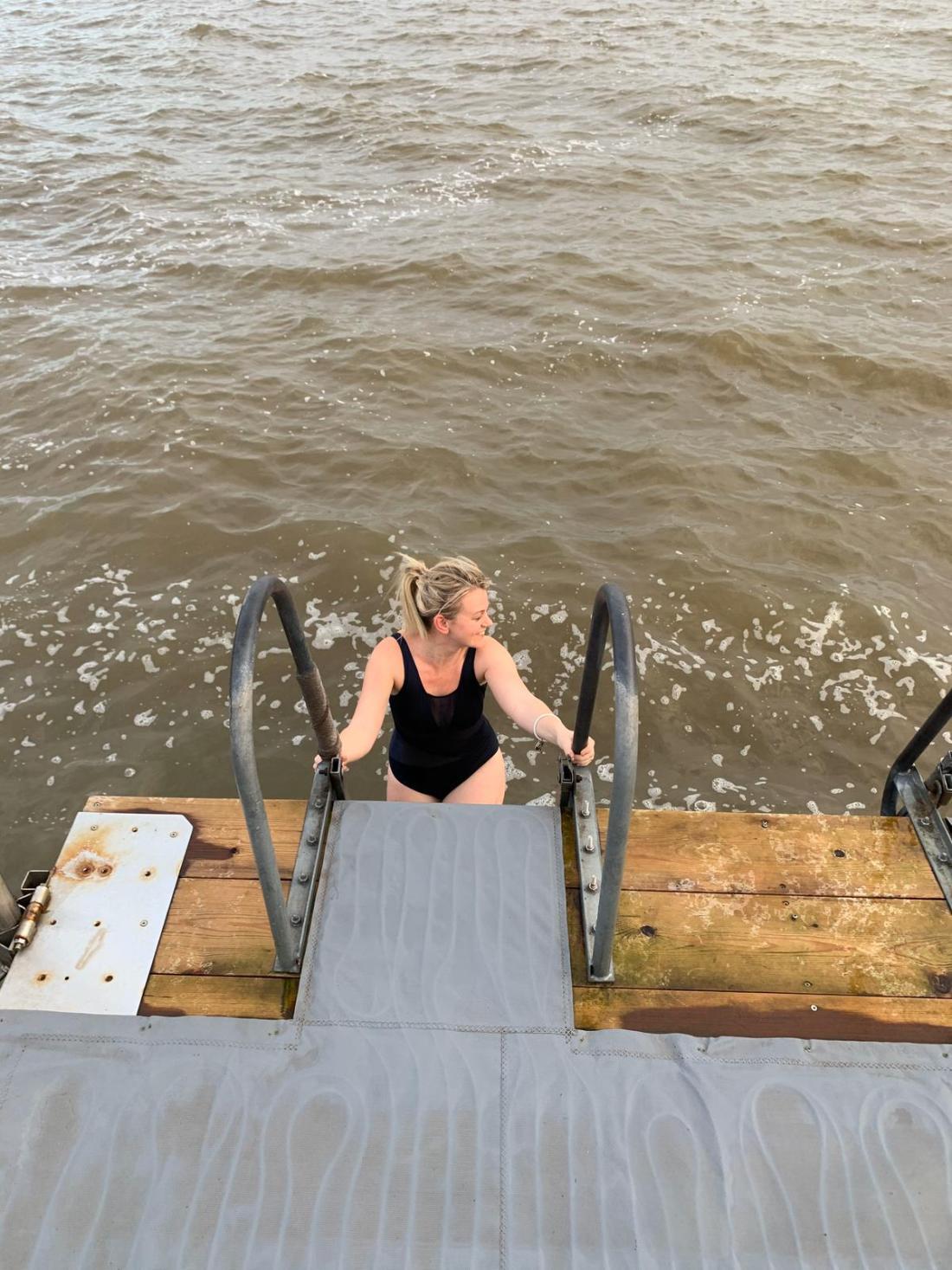 Laura in the Baltic Sea, Helsinki