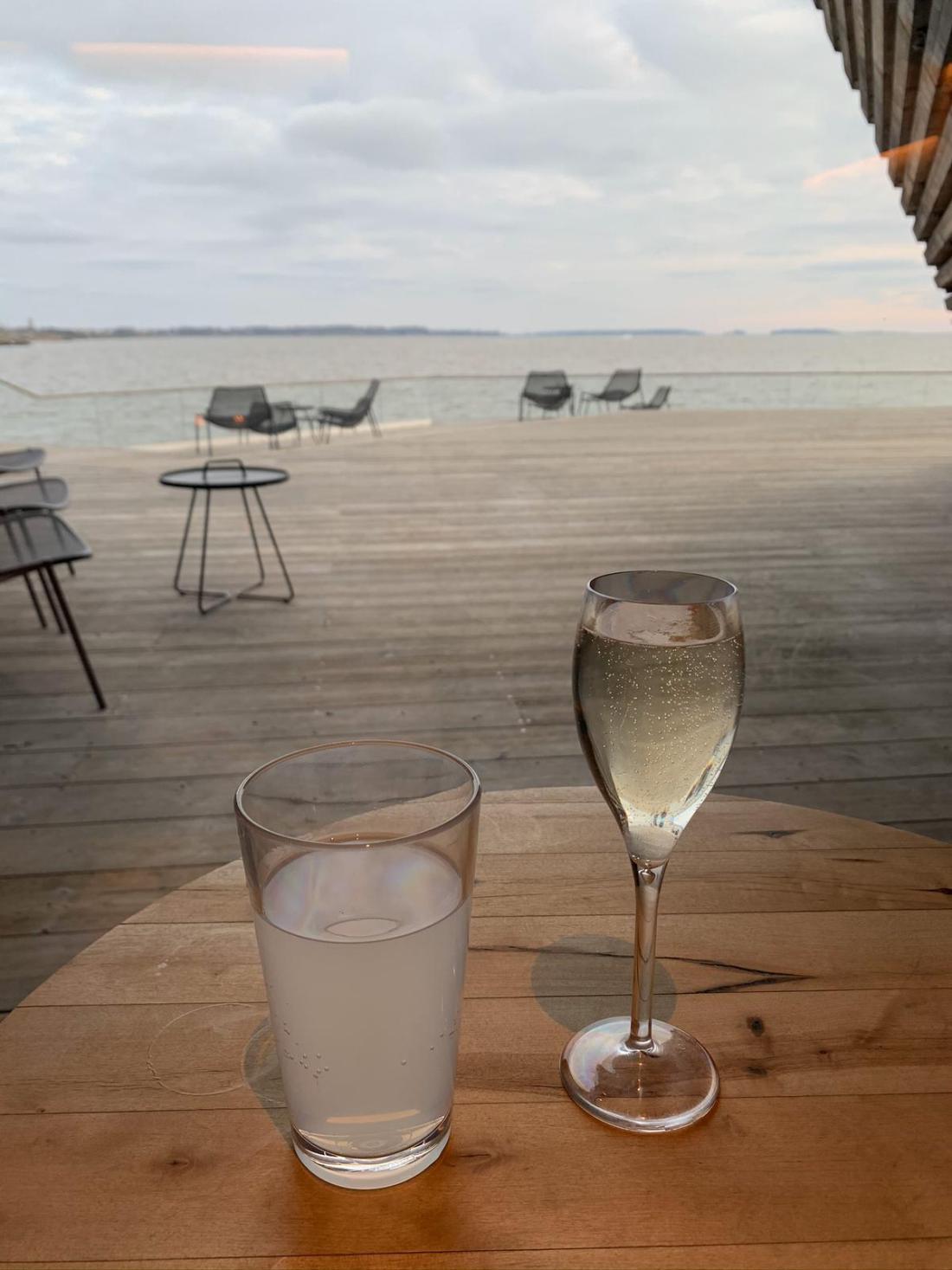 Drinks at Löyly, Helsinki