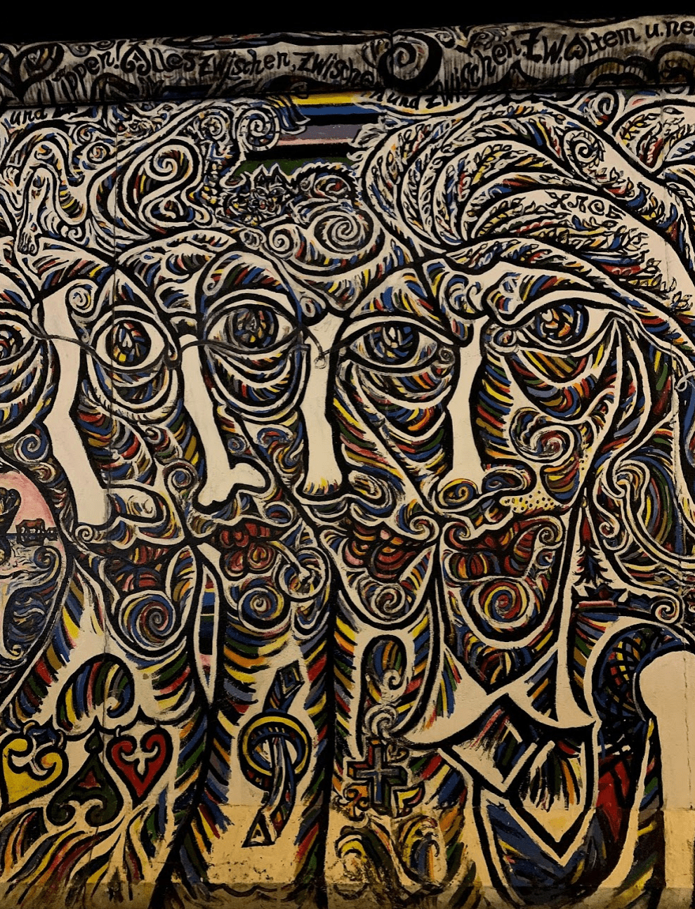 Mural from the East Side Gallery