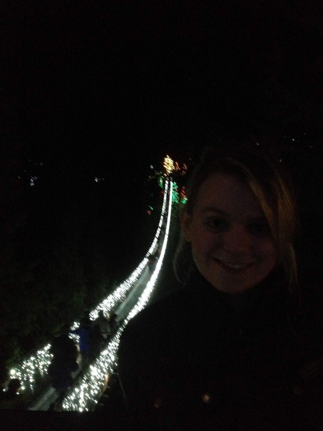 Capilano Suspension Bridge at Christmas