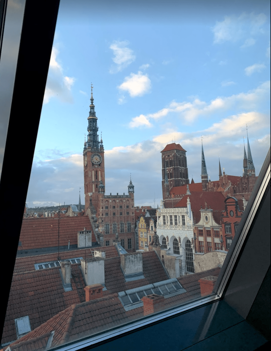 Views over Gdansk, Poland