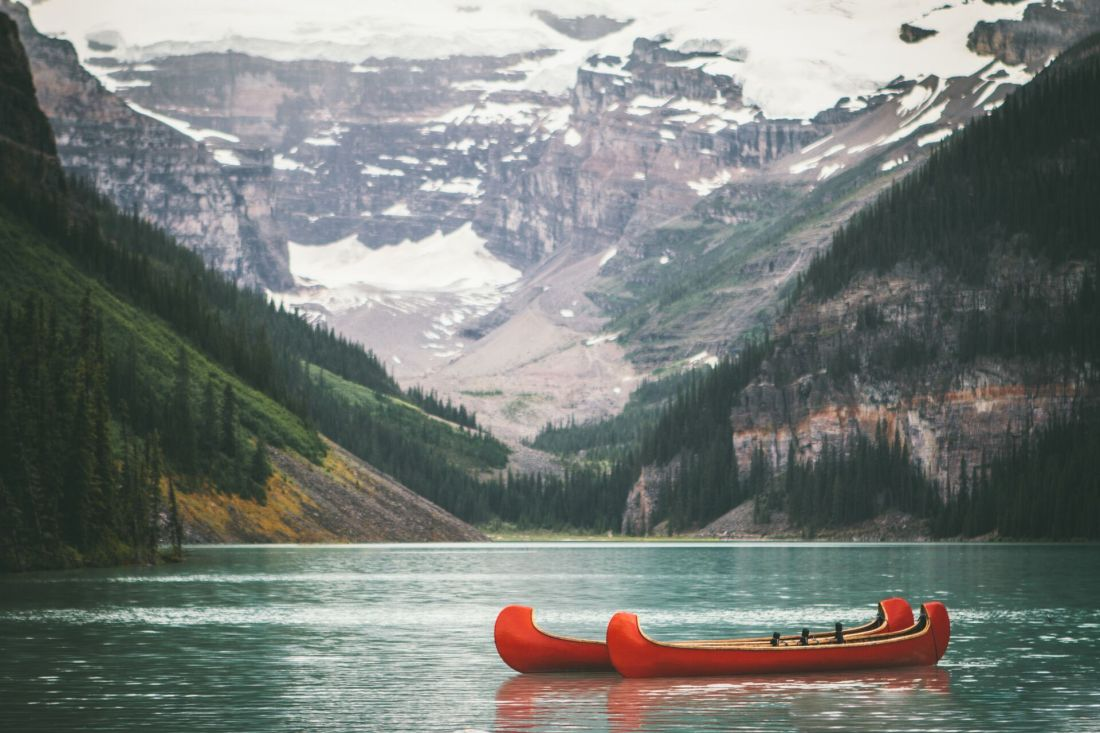 Moving to Canada from the UK: Lake Louise, Alberta