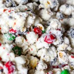 Christmas Popcorn Snack Mix