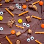 Spooky Halloween Candy Bark