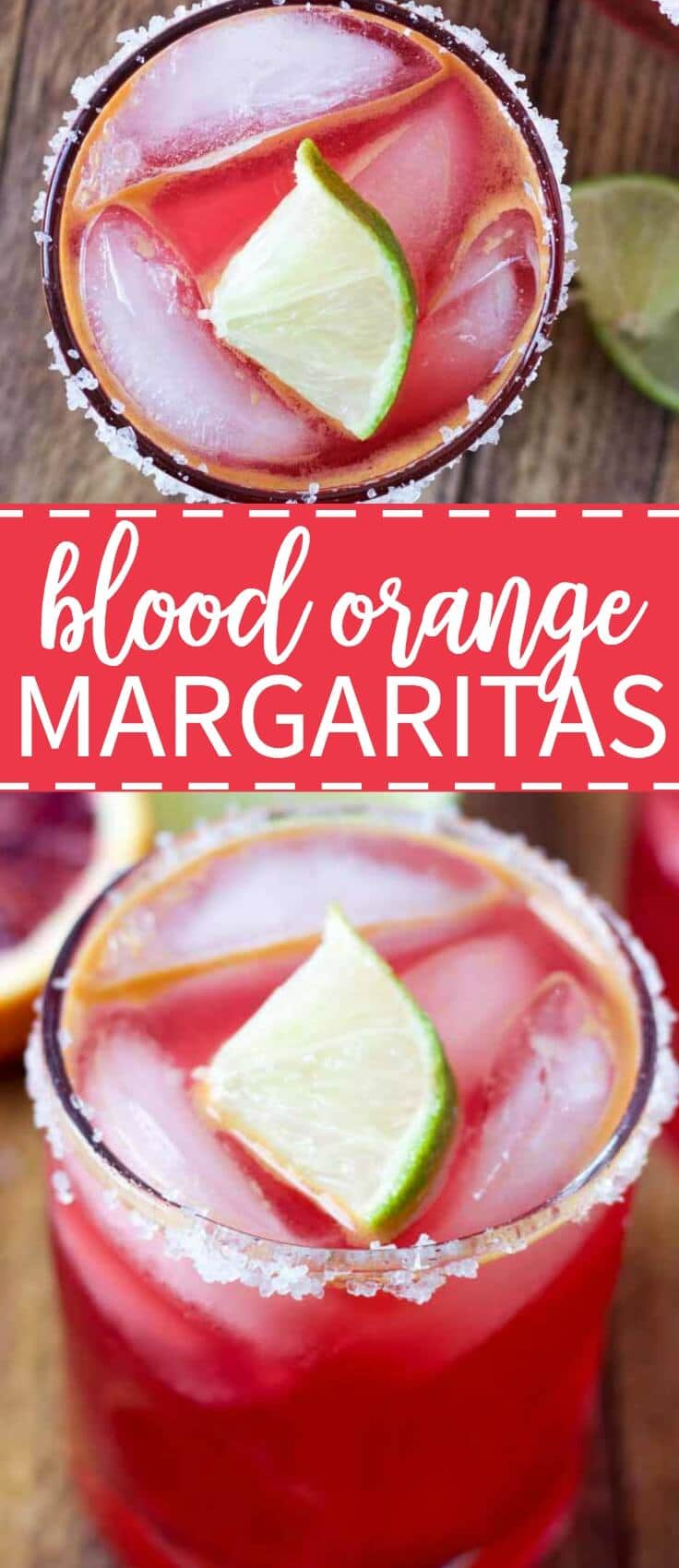 the best cindo de mayo drink recipe! These blood orange margaritas are and easy margarita recipe to make with so much flavor.