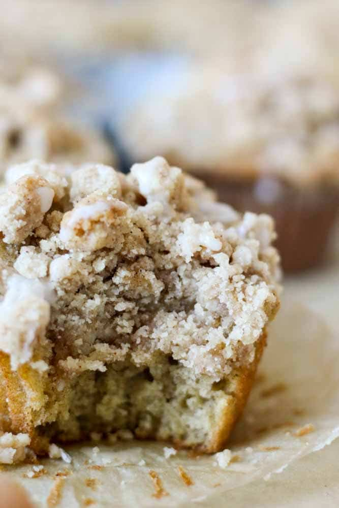 Coffee Cake Crumble Muffins What Molly Made