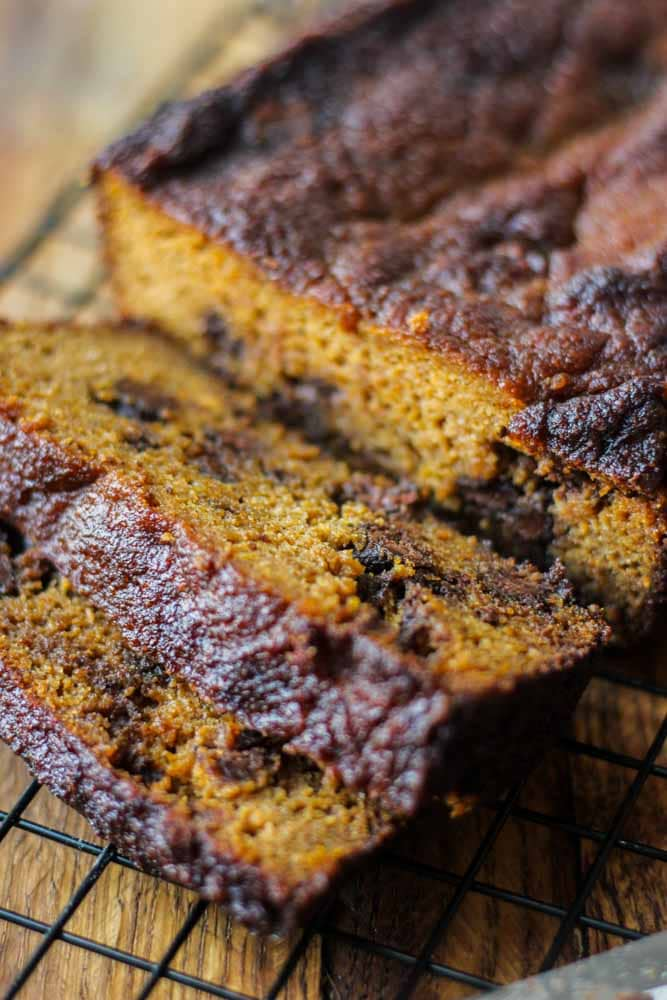 pumpkin bread paleo